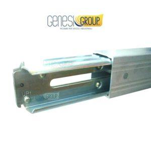 Barra portante in alluminio regol. 2290×2570