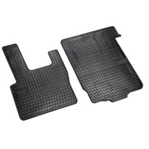 Set tappeti su misura in gomma – Daf 95XF (01/97>09/03) – Daf XF 105 (02/04>12/14) – Daf XF95 (11/01>12/07)