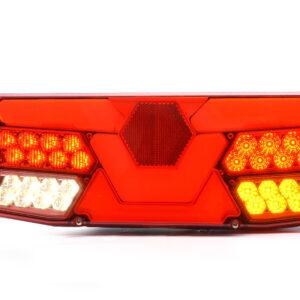 FANALE POSTERIORE FULL LED 12/24V Motrice W138DP