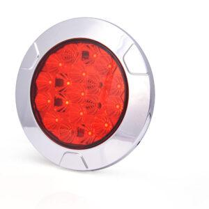 Gruppo ottico posteriore a LED rotondo 2 funzioni W141