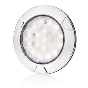 Luce di retromarcia/plafoniera interna a nido d'ape interno bianco a LED W142