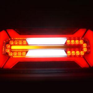 FANALE POSTERIORE FULL LED MOTRICE DESTRO – SINISTRO 12/24V freccia DINAMICA W185DD