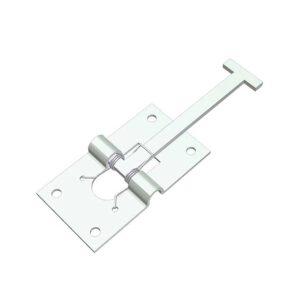 Ferma porta maschio zincato L=92 senza piastra scatola 5pz.