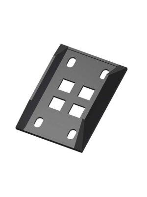 Protezione (piastra) in plastica scatola 5pz.