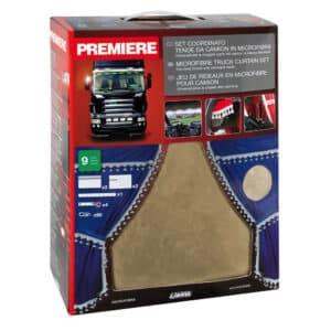 Premiere, set tende in microfibra per camion – Beige